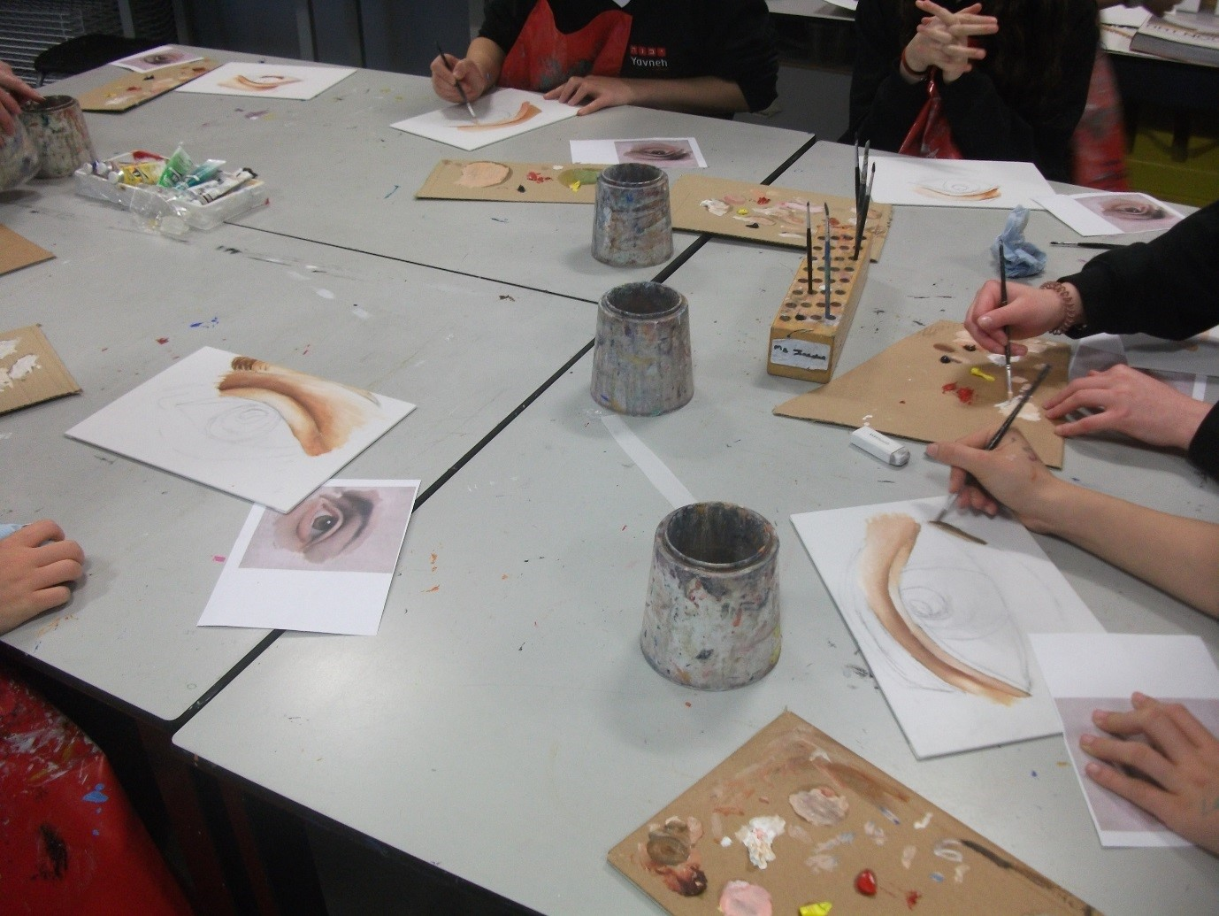 Art oil painting master class 5th december yavneh for Cool math battle fish